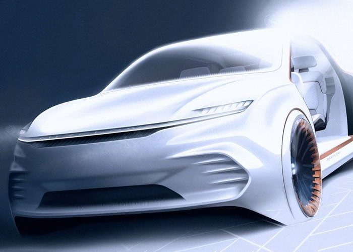 Chrysler To Introduce Airflow Vision Concept At CES 2020